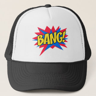 Comic book BANG Trucker Hat