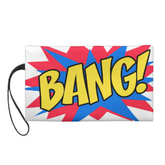 Comic book BANG Wristlet