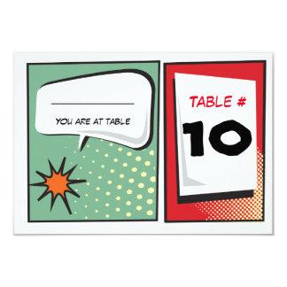 COMIC BOOK Bar Mitzvah Reception Party Card