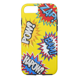 Comic Book Burst Pow 3D iPhone 7 Case