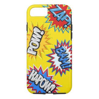 Comic Book Burst Pow 3D iPhone 8/7 Case