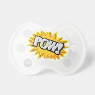 Comic Book Burst Pow 3D Pacifier
