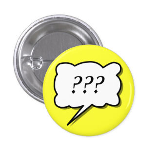 """Comic Book  Call Out """"???"""" Buttons"""