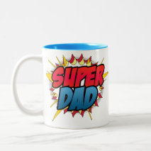 Comic Book Inspired Super Dad