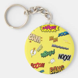 Comic Book Keychain