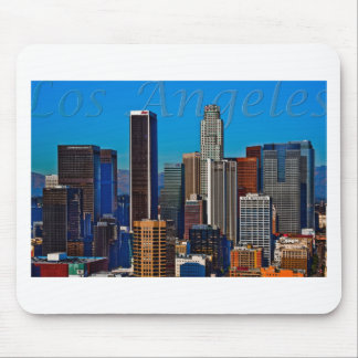 Comic Book Los Angeles Mouse Pad
