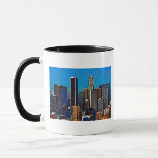Comic Book Los Angeles Mug