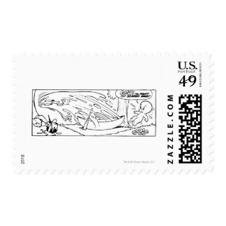 Comic Book Page 16 Stamp
