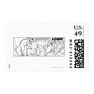 Comic Book Page 17 Postage Stamp