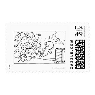 Comic Book Page 8 Postage Stamp