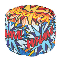 Comic Book Pop Art WHAM! KA-POW! SPLAT! Pouf