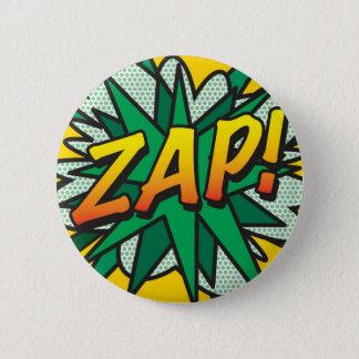 Comic Book Pop Art ZAP! Button