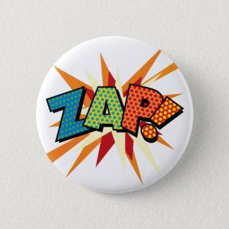 Comic Book Pop Art ZAP! Pinback Button