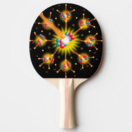 Comic Book Pop Art ZAP! Ping-Pong Paddle