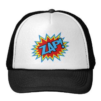 Comic Book Pow! Burst Hats