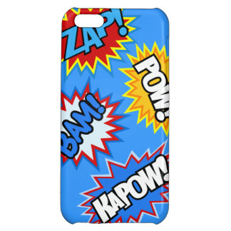 Comic Book Pow! Burst iPhone 5C Cover