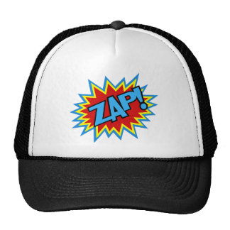 Comic Book Pow! Burst Trucker Hat