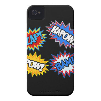 Comic Book Pow! Bursts Case-Mate iPhone 4 Case