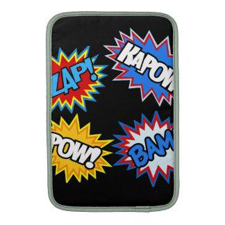 Comic Book Pow! Bursts MacBook Sleeve