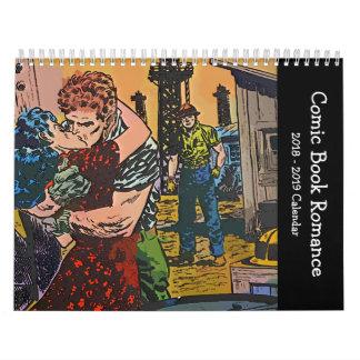 Comic Book Romance 2018 Calendar