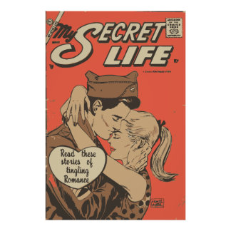 Comic Book Romance My Secret Life 22 Poster