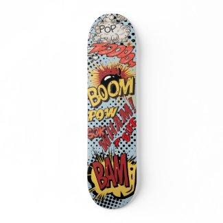 Comic Book Skateboard skateboard