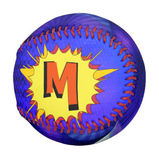Comic Book StarBurst Baseball