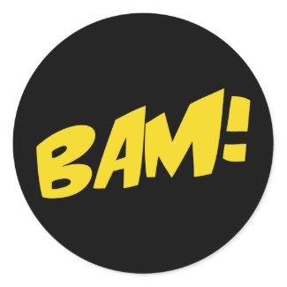 Comic Book Sticker sticker