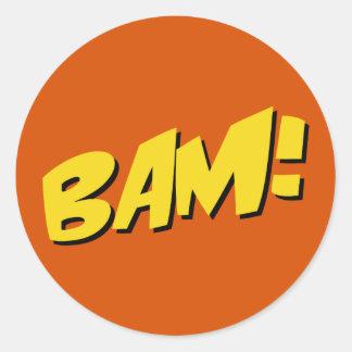 Comic Book Sticker