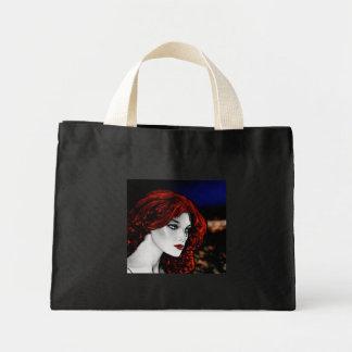 Comic Book Style Redhead Bag