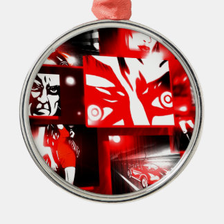 Comic Book Style Serie Christmas Ornaments