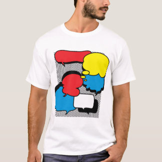 Comic Book Thought Bubbles T-Shirt
