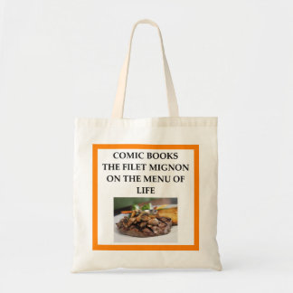 comic book tote bag