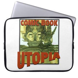"Comic Book Utopia 15"" Laptop Cover"
