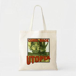 Comic Book Utopia Budget Tote Bag 1