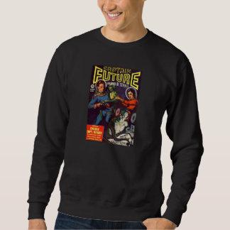 Comic Book Utopia CF Black Retro Sweatshirt