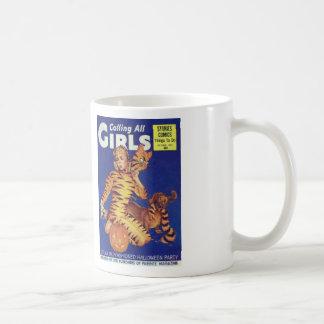 Comic Book Utopia Retro CAG white mug