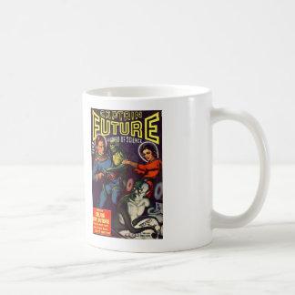 Comic Book Utopia Retro CF white mug