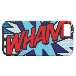 Comic Book WHAM! iPhone SE/5/5s Case