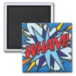Comic Book WHAM! Magnet