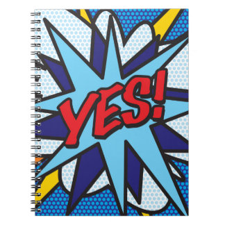 COMIC BOOK YES! NOTEBOOK