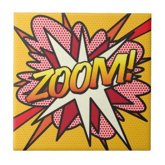 Comic Book ZOOM! Tile
