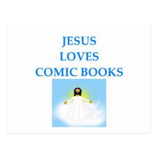 COMIC BOOKS POSTCARD