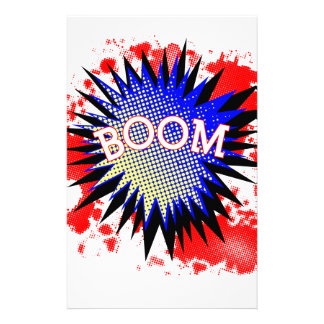 Comic Boom Stationery