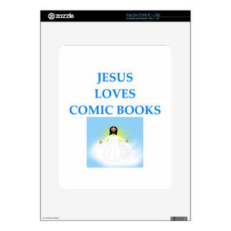 CÓMIC CALCOMANÍA PARA iPad