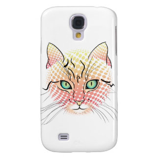 Comic Cat Samsung Galaxy S4 Cover
