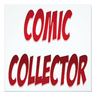 Comic Collector Red Card