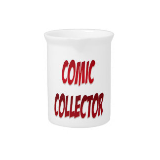 Comic Collector Red Pitcher