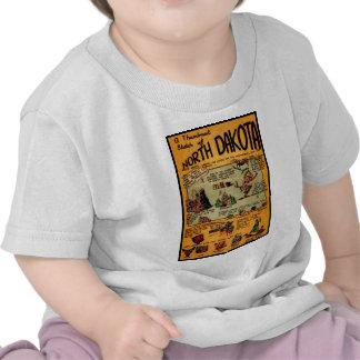 Cómic de Dakota del Norte Camisetas