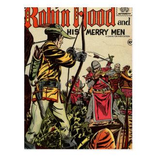Cómic de Robin Hood Postales